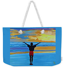 Good Morning Morning Weekender Tote Bag