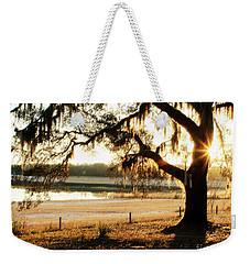 Good Morning Mossy Oak Weekender Tote Bag