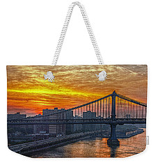 Good Morning New York Weekender Tote Bag