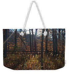 Weekender Tote Bag featuring the photograph Good Morning by Pamela Clements