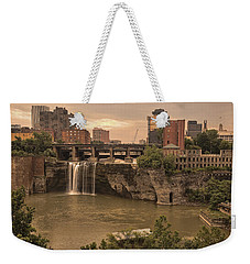 Good Morning Rochester Weekender Tote Bag
