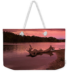 Good Morning Sacramento River Weekender Tote Bag