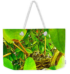 Good Morning Sunshine Weekender Tote Bag by Robyn King