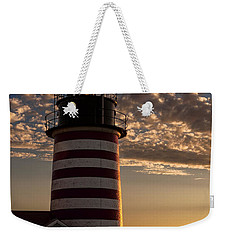 Good Morning West Quoddy Head Lighthouse Weekender Tote Bag
