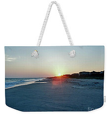 Weekender Tote Bag featuring the photograph Good Night Day by Roberta Byram