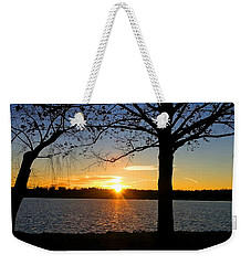 Good Night Potomac River Weekender Tote Bag