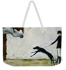 Good To See You Again Weekender Tote Bag by Xueling Zou