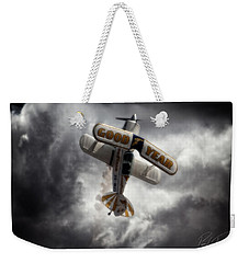 Weekender Tote Bag featuring the photograph Good Year Cloud by Paul Job
