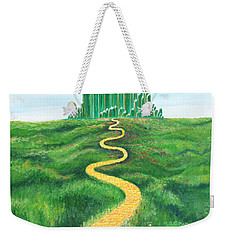 Goodbye Yellow Brick Road Weekender Tote Bag
