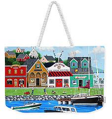 Goodies By The Sea Weekender Tote Bag