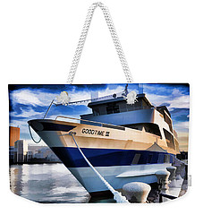 Weekender Tote Bag featuring the photograph Goodtime IIi - Cleveland Ohio by Mark Madere