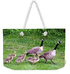 Goose Step Weekender Tote Bag