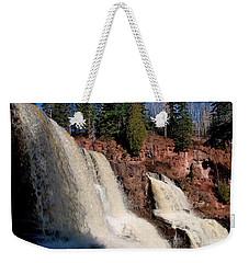 Gooseberry Falls Weekender Tote Bag by James Peterson