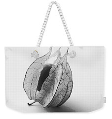 Weekender Tote Bag featuring the photograph Gooseberry In Black And White by Jocelyn Friis