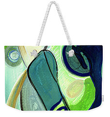 Gorgeous In Green Weekender Tote Bag