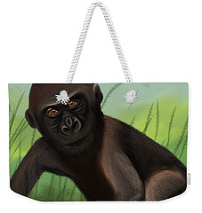 Gorilla Greatness Weekender Tote Bag