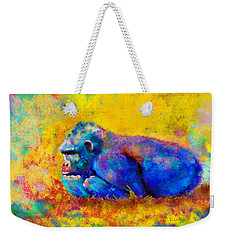 Gorilla Weekender Tote Bag by Sean McDunn