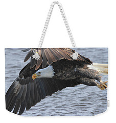 Weekender Tote Bag featuring the photograph Got My Eye On You by Coby Cooper
