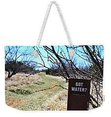 Got Water Weekender Tote Bag