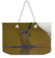 Weekender Tote Bag featuring the photograph Gotcha by Bryan Keil