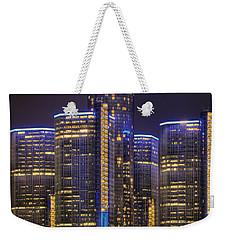 Gotham Detroit Weekender Tote Bag by Nicholas  Grunas