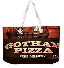 Gotham Pizza Weekender Tote Bag