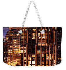 Weekender Tote Bag featuring the photograph Gothic Living - Yaletown Ccclxxx by Amyn Nasser