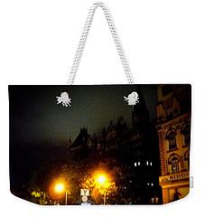 Weekender Tote Bag featuring the photograph Gothic Skyline by Salman Ravish