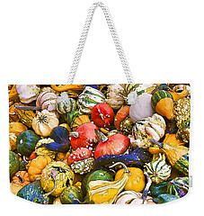 Gourds And Pumpkins At The Farmers Market Weekender Tote Bag