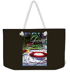 Gourmet Cover Featuring A Bowl Of Borsch Weekender Tote Bag