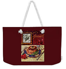 Gourmet Cover Featuring A Plate Of Tournedos Weekender Tote Bag