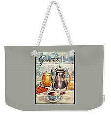 Gourmet Cover Featuring An Illustration Weekender Tote Bag