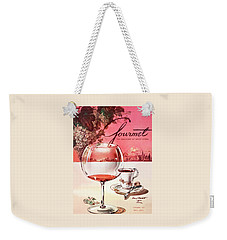 Gourmet Cover Illustration Of A Baccarat Balloon Weekender Tote Bag by Henry Stahlhut