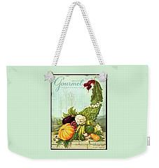 Gourmet Cover Illustration Of A Cornucopia Weekender Tote Bag