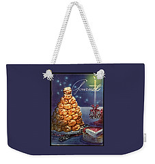Gourmet Cover Illustration Of Croquembouche Weekender Tote Bag