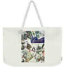 Gourmet Cover Illustration Of Drawings Portraying Weekender Tote Bag