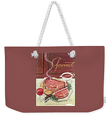 Gourmet Cover Of A Roast Beef Weekender Tote Bag