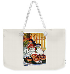 Gourmet Cover Of Fruit Tarts Weekender Tote Bag