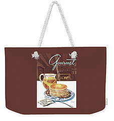 Gourmet Cover Of Pancakes Weekender Tote Bag