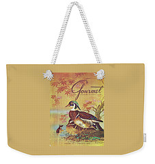 Gourmet Cover Of Wood Ducks Weekender Tote Bag