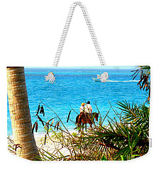 Grace Bay Riding Weekender Tote Bag by Patti Whitten