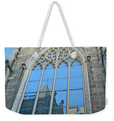 Weekender Tote Bag featuring the photograph Grace Episcopal Church Nyc by Emmy Marie Vickers