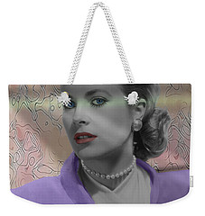 Grace Kelly - Featured In Comfortable Art Group Weekender Tote Bag by EricaMaxine  Price