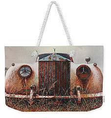 Grace - Rolls Royce Weekender Tote Bag by Blue Sky