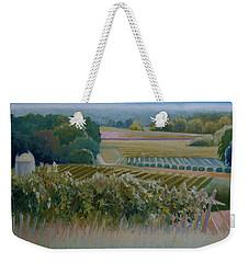 Grace Vineyards No. 1 Weekender Tote Bag by Catherine Twomey