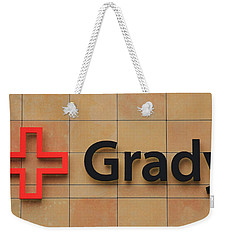 Grady Hospital Atlanta Georgia Art Weekender Tote Bag