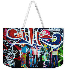 Graffiti Art Weekender Tote Bag