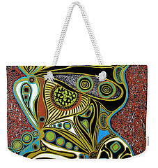 Grain De Folie.. Weekender Tote Bag by Jolanta Anna Karolska
