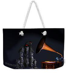 Grammaphone Weekender Tote Bag by Tim Fillingim