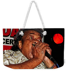 Grammy Award Winner James Cotton Weekender Tote Bag
